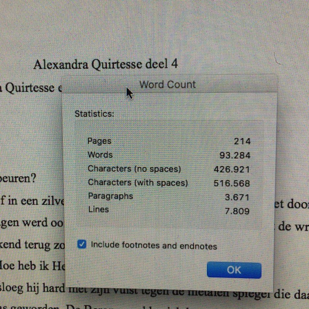 woordenteller Alexandra Quirtesse 4